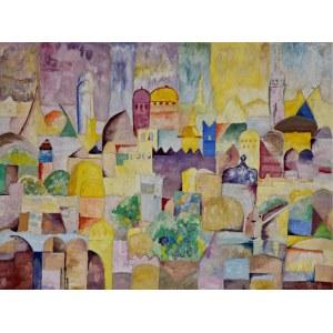 Obraz Przypisywany Artystom Z Kręgu Paula Klee, Podróż do Tunezji, ok. 1920 - 1925
