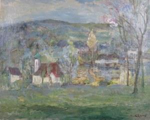 Henryk Krych (1905-1980), Krajobraz z Białki