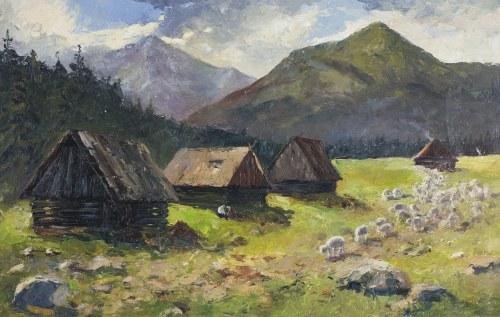 Leszek Stańko (1924-2011), Owce na hali