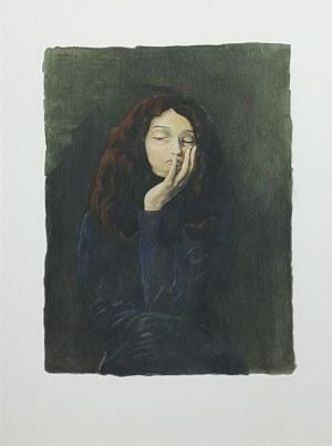 Mojżesz Kisling (1891 - 1953), Portret dziewczyny