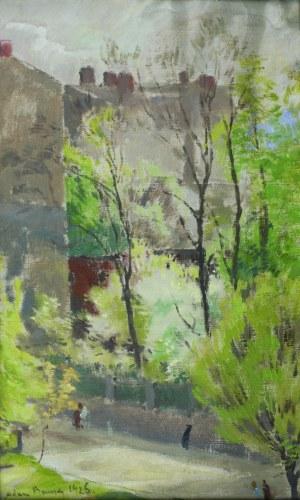 Adam Bunsch (1896 - 1969), Pejzaż IV, [1925]