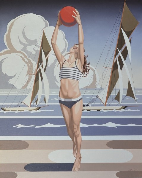 TOMASZ KOSTECKI, THE BEACH, 2017