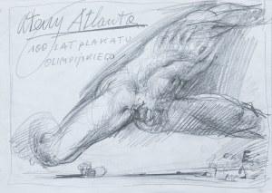 Franciszek Starowieyski, Ateny Atlanta - 100 lat plakatu olimpijskiego - projekt plakatu