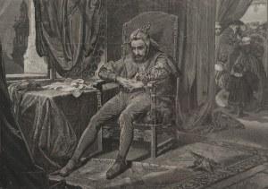 Jan MATEJKO (1838-1893), Jan STYFI (1839-1921) - rytował, Stańczyk