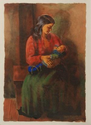 Mojżesz KISLING (1891-1953), Matka z dzieckiem