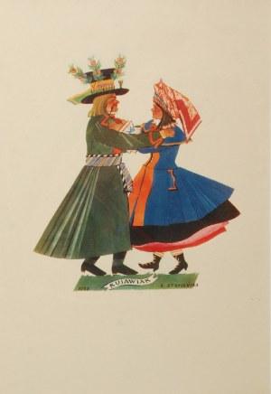 Zofia STRYJEŃSKA (1894-1976), Tańce polskie - Zofia Stryjeńska, 1927