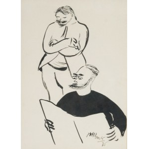 Janusz Maria BRZESKI (1907-1957), Przegląd prasy (Kurierek), 1935