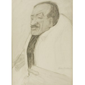 Tadeusz WAŚKOWSKI (1883-1960), Typ charakterystyczny - Portret Tytusa Czyżewskiego