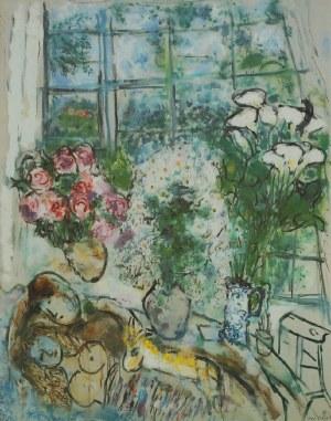 Marc CHAGALL (1887-1985) - według, Białe okno