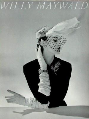 Plakat Willy Maywald Chapeau Fath / Paris 1951, lata 80 XX wieku