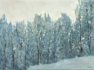 Olena Horhol, Covered with hoarfrost, 2018