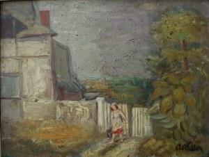 Michael Adlen (1898-1980), Okolice Honfleur (1929)