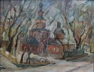 B.J. Bomsztein(XX w.), Stara cerkiew
