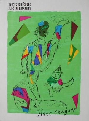"""Marc Chagall (1887-1985), Zielony akrobata(okładka """"Derriére le Miroir"""" no 235, Octobre 1979, Mourlot #946)"""