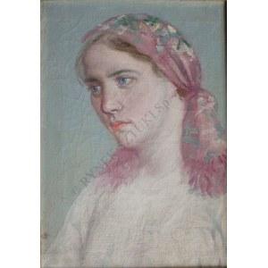 Antoni Gawiński (1876-1954), Dziewczyna w chuście
