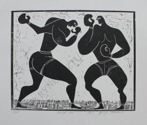 Henryk Płóciennik, Boks(1962, odbitka późniejsza)