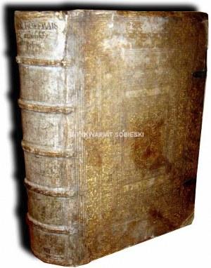 HOFMEISTER- POSTILLA EVANGELICA wyd. 1575 OPRAWA SKÓRA NA DESCE, FOLIO, DRZEWORYTY