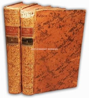 CASTERA- VIE THE CATHERINE II t.1-2 wyd. 1797