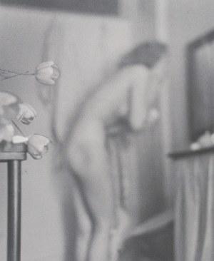 Witold CHROMIŃSKI (1913-1977), Alina i tulipany