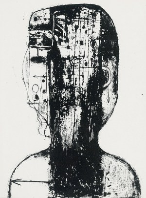 Zdzisław BEKSIŃSKI (1929-2005), Głowa, 1959