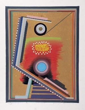 Henryk PŁÓCIENNIK (ur. 1933), Monotypia + , 2010