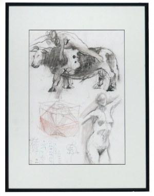 Franciszek STAROWIEYSKI (1930-2009), Porwanie Europy - Studium, 1984