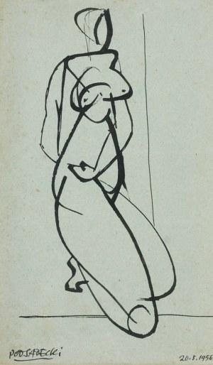 Kazimierz PODSADECKI (1904-1970), Akt, 1956
