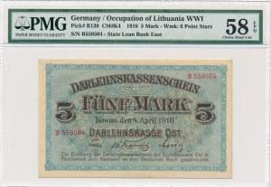 Kowno 5 marek 1918 -B- PMG 58 EPQ