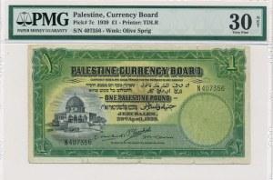 Palestyna 1 funt 1939 - PMG 30 NET