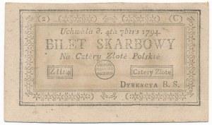 4 złote 1794 (2)(C) - z błędem