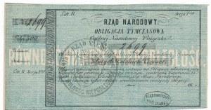 Rząd Narodowy - Obligacja Tymczasowa 500 złotych