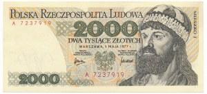 2.000 złotych 1977 -A-