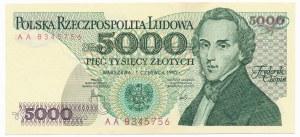 5.000 złotych 1982 -AA-