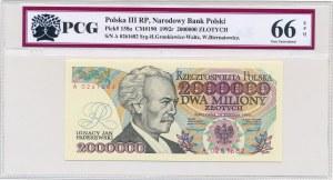 2 miliony złotych 1992 -A- Konstytucyjy- PCG 66 EPQ