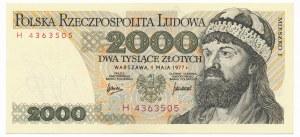 2.000 złotych 1977 -H-