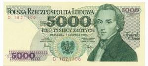5.000 złotych 1982 -D-
