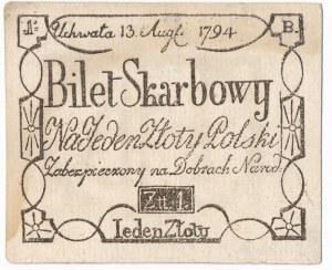 1 złoty 1794 - WYJĄTKOWE FAŁSZERSTWO