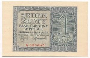 1 złoty 1940 -A-