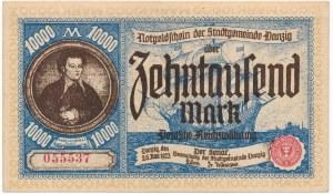 Gdańsk 10.000 marek 1923