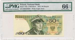 50 złotych 1975 -BB- PMG 66 EPQ