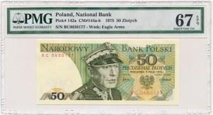50 złotych 1975 -BC- PMG 67 EPQ