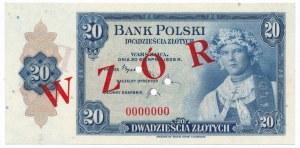 20 złotych 1939 WZÓR -0000000-