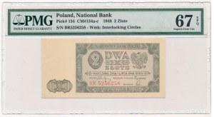 2 złote 1948 -BR- PMG 67 EPQ