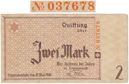 2 marki 1940 Numeracja Rauchwergera - DUŻA CIEKAWOSTKA