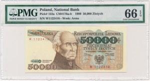 50.000 złotych 1989 -W- PMG 66 EPQ