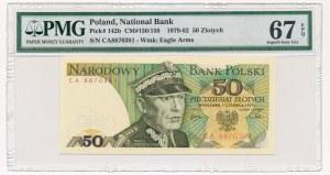 50 złotych 1979 -CA- PMG 67 EPQ