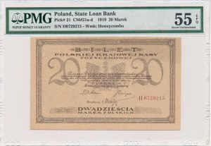 20 marek 1919 -H- PMG 55 EPQ