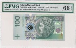 100 złotych 1994 -AA- PMG 66 EPQ