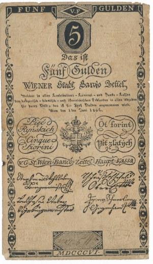 Austria 5 guldenów ryńskich 1806