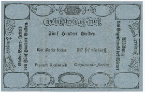 Austria 500 guldenów 1806 FORMULARZ